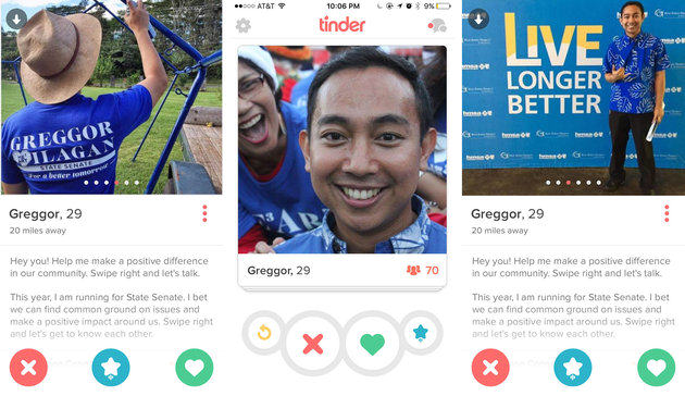 Politician Uses Tinder To Get To Know Voters, Goes Horribly Wrong %name