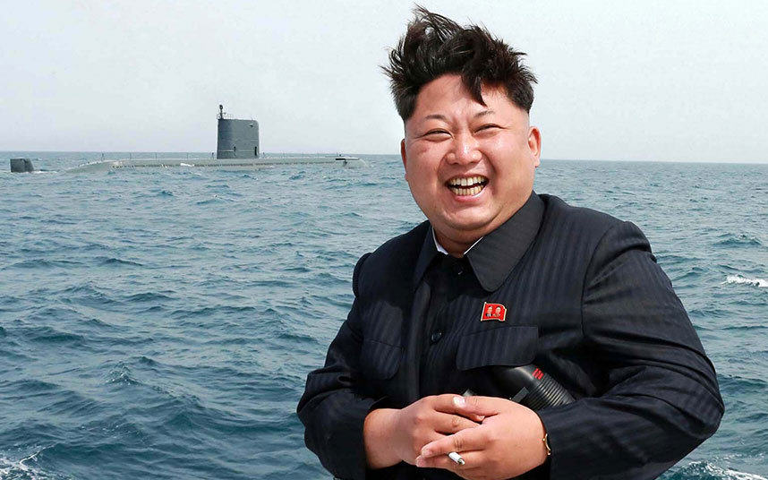 Footage Shows North Korea Blasting Missiles As Kim Jong Un Watches On 7fn6sjL