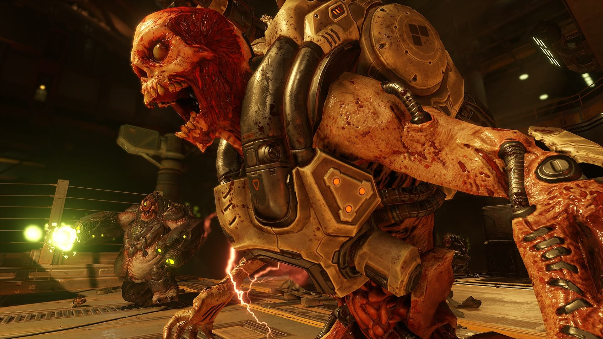 DOOM Higher Difficulty And Non Linear Exploration Confirmed DOOM 2016 Rev Mancubus 1437988261
