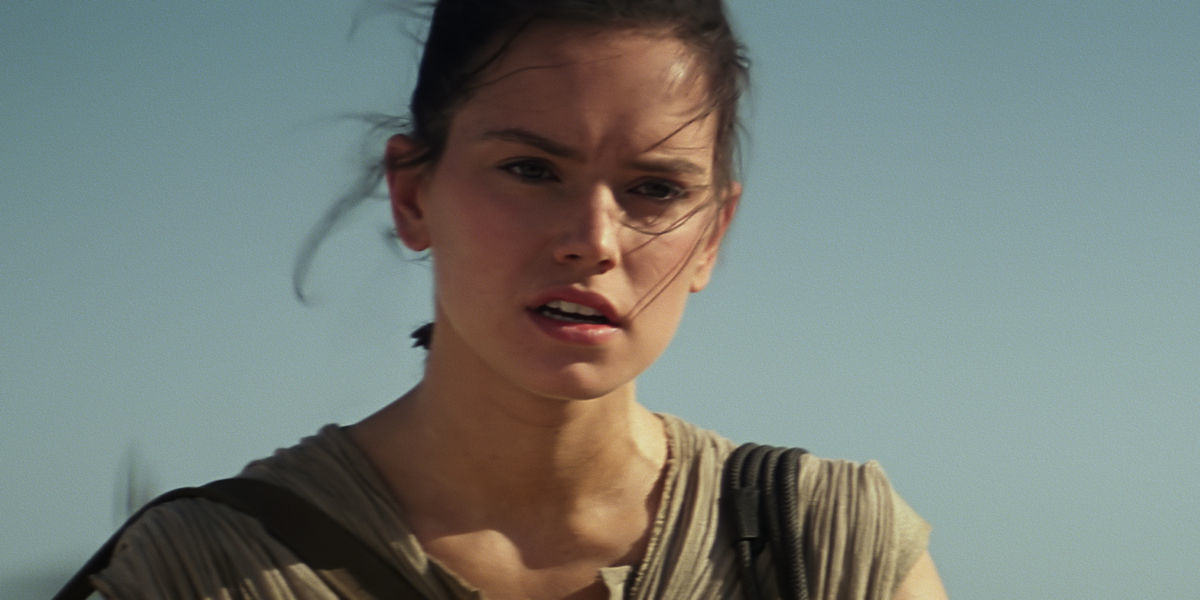 Star Wars Director JJ Abrams Teases Answer To Mystery Of Reys Parents Daisy Ridley as Rey in The Force Awakens