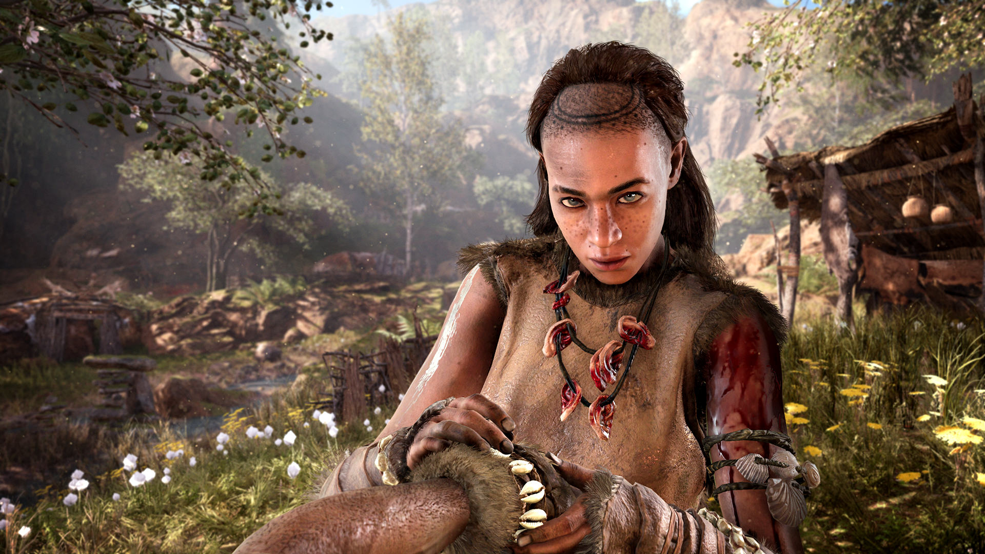 An Exclusive Look At Far Cry Primal Ahead Of Release Day FCP 02 Gatherer Screenshots PREVIEW PR 160126 6pm CET 1453716678