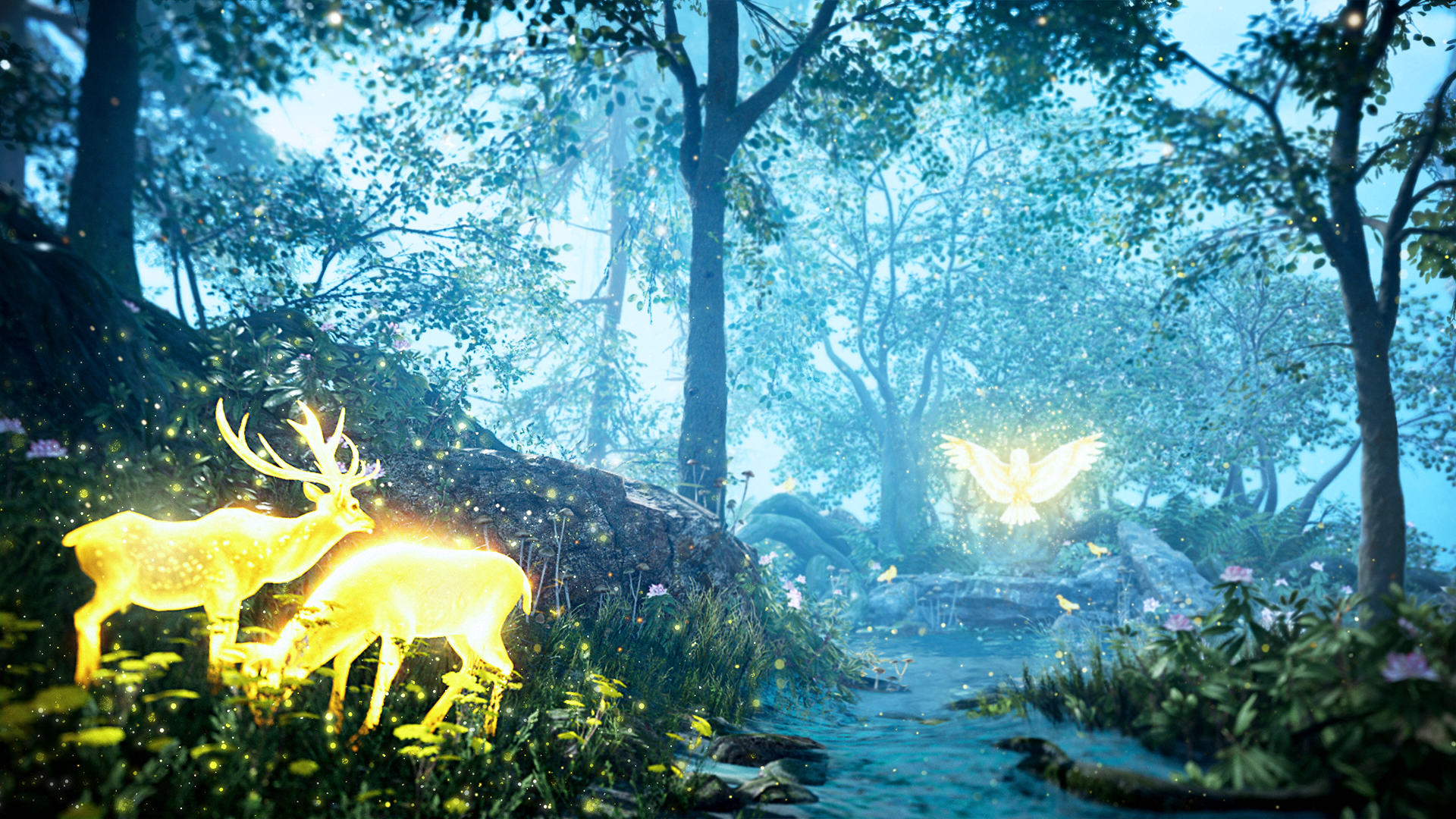An Exclusive Look At Far Cry Primal Ahead Of Release Day FCP 03 Owl Vision Screenshots PREVIEW PR 160126 6pm CET 1453716680