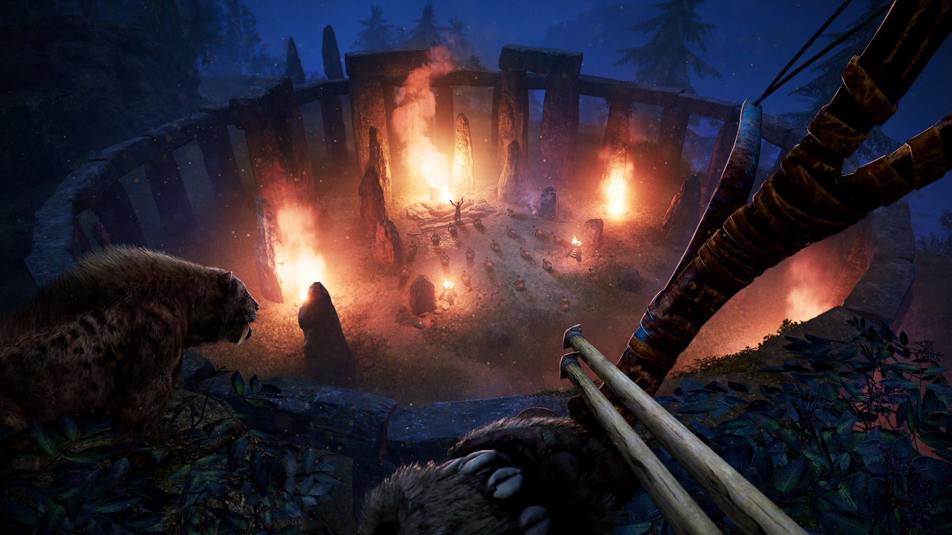 An Exclusive Look At Far Cry Primal Ahead Of Release Day FCP 06 Ritual Attack Screenshots PREVIEW PR 160126 6pm CET 1453716683
