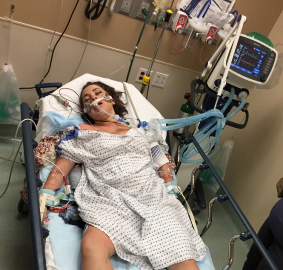 Girl Shares Shocking Photo To Warn About The Dangers Of Alcohol Hanna Lottritz student drinking