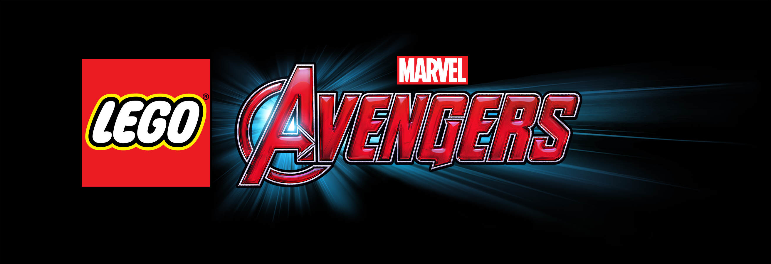 Review: LEGO Marvel's Avengers LEGO Marvel Avengers Logo RGB on black