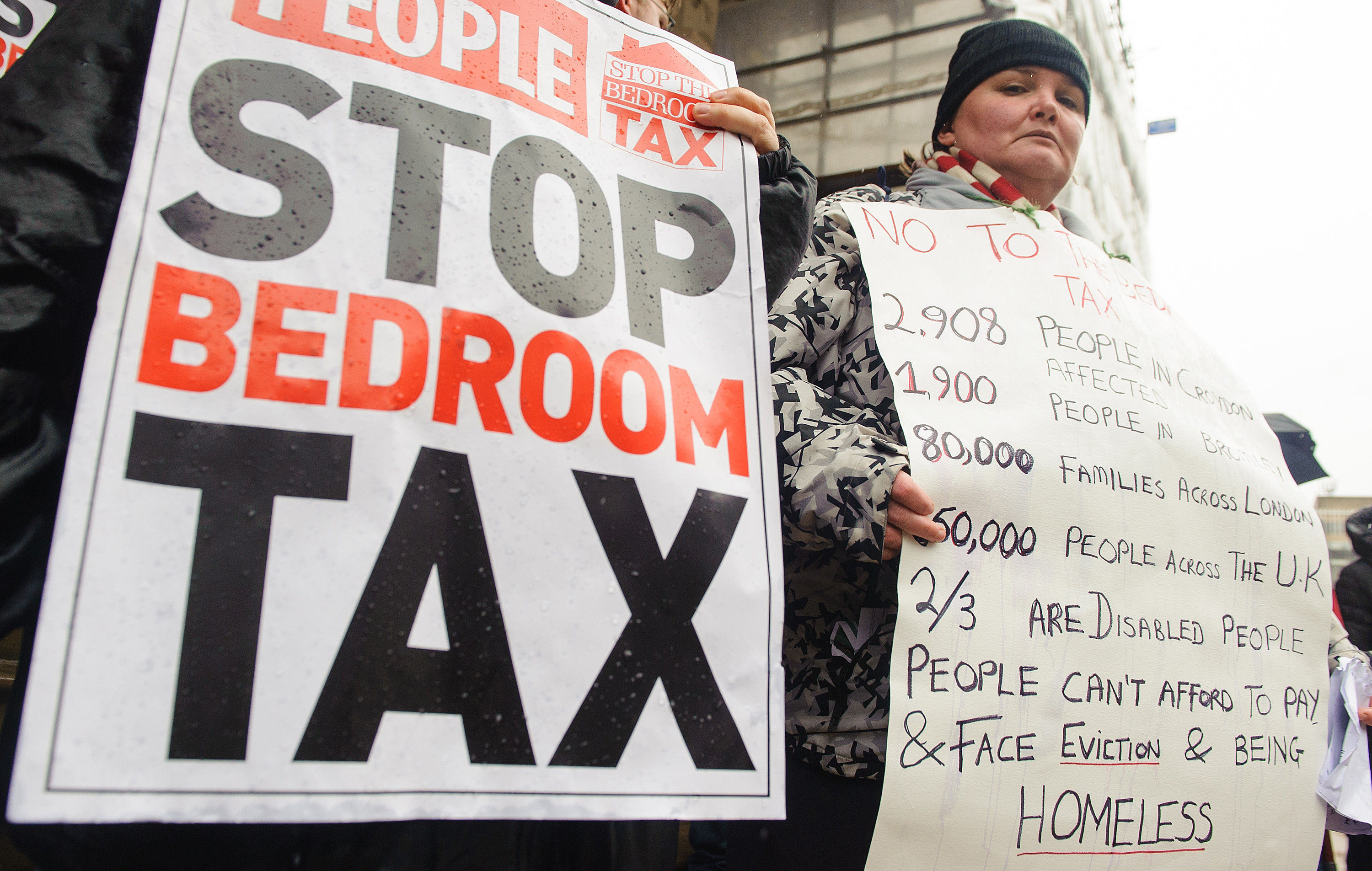 Domestic Violence Victim Wins Battle Over Discrimantory Bedroom Tax PA 16059132