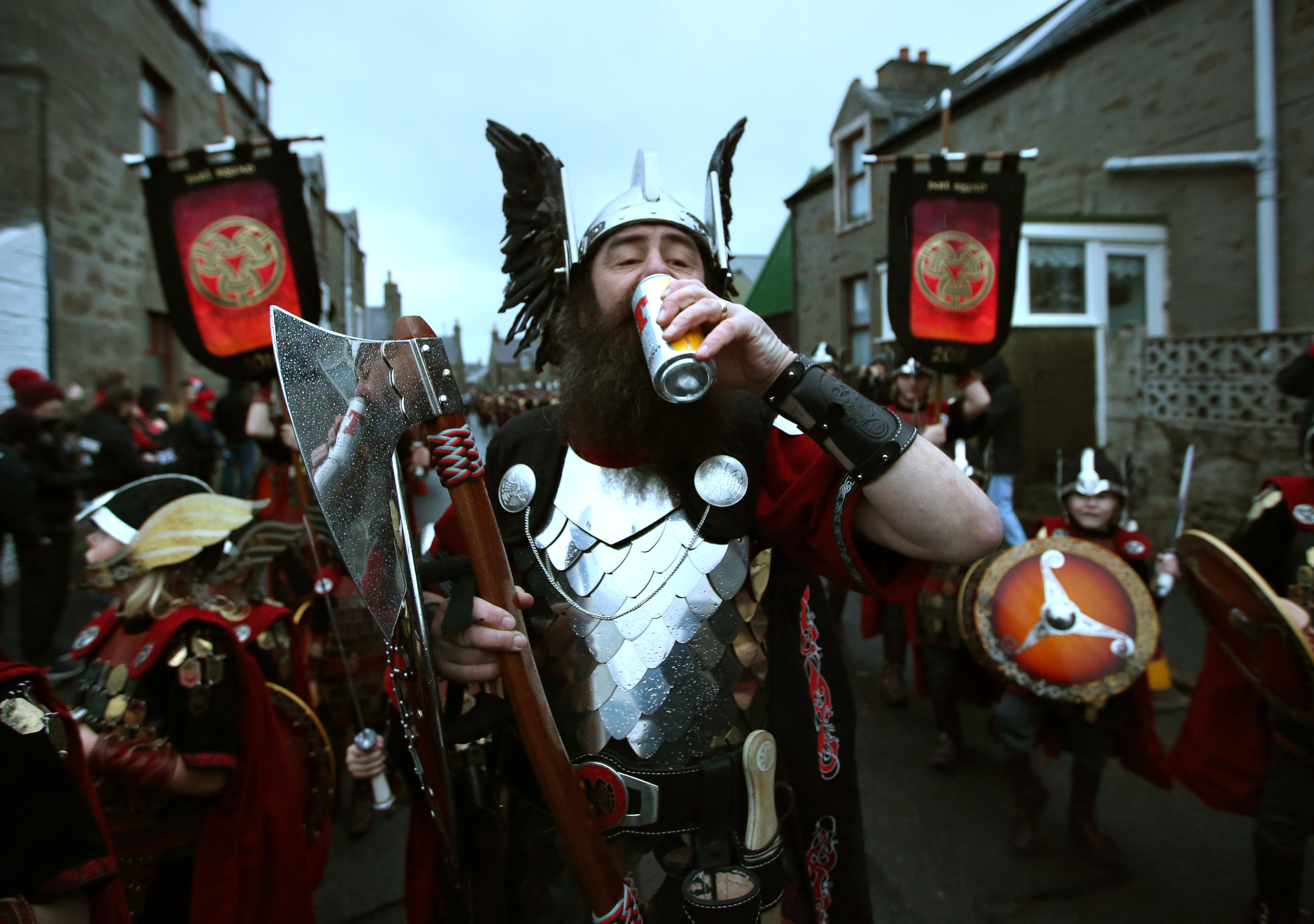 Incredible Pictures Show Shetland Isles Invaded By Vikings And Stormtroopers PA 25342820