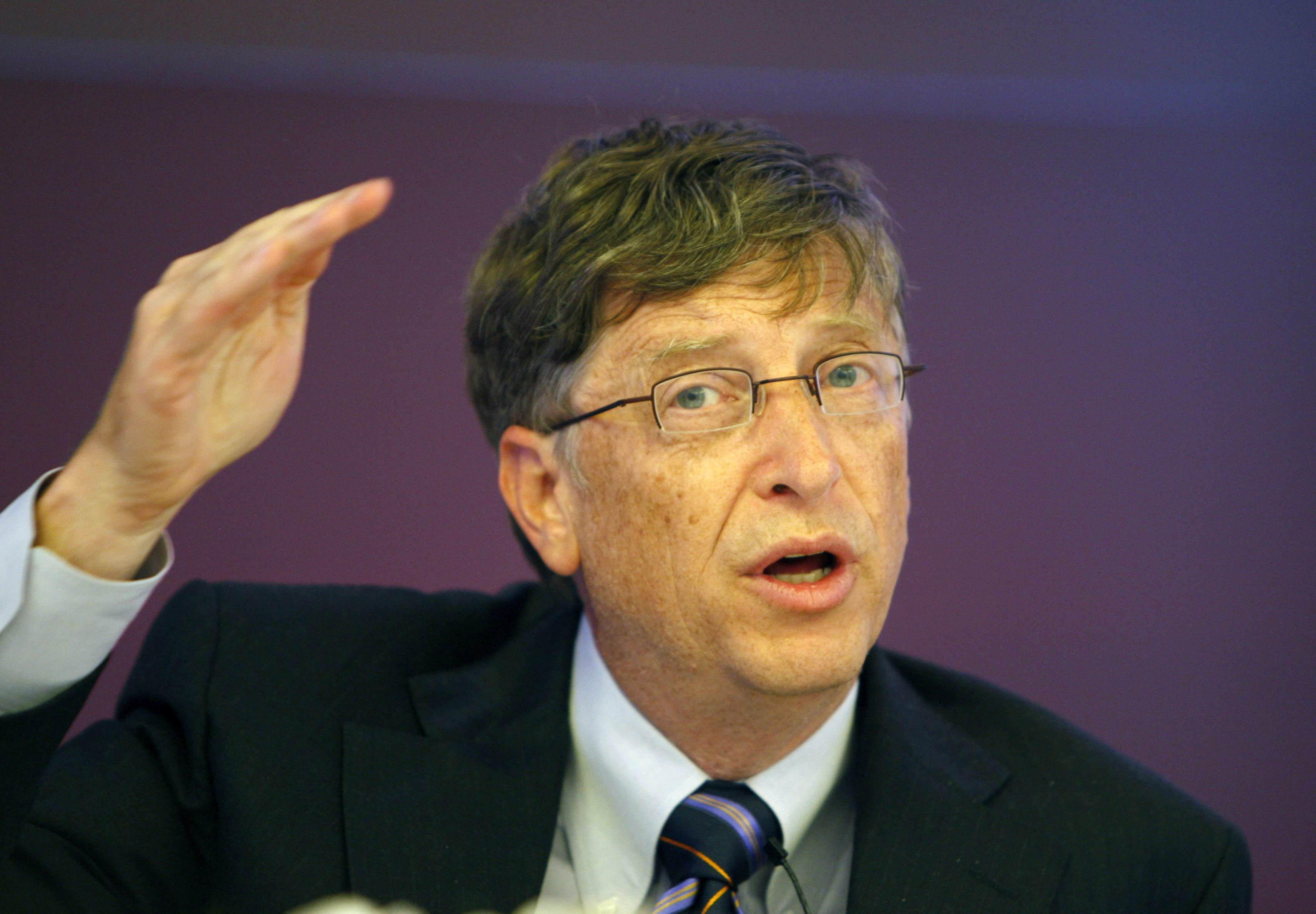 case study of bill gates Watch video  four years ago bill gates predicted polio would be eradicated by 2020 progress shows the last case may be seen as early as this year.