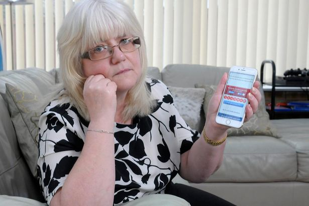 Couple Lose Out On £35 Million Lotto Jackpot Because Of App Glitch PAY Edwina Nylan who would have won the £35m jackpot on the lottery