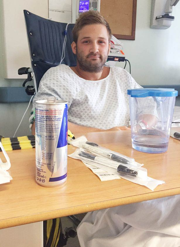 Gym Obsessed Dad Left Fighting For Life After Insides Cooked By Diet Pills PAY Lewis Brown 6