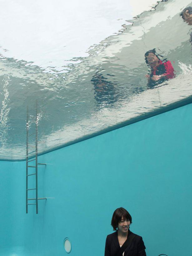 This Incredible Swimming Pool Optical Illusion Would Cause Panic Anywhere PAY The Swimming Pool by Leandro ERLICH