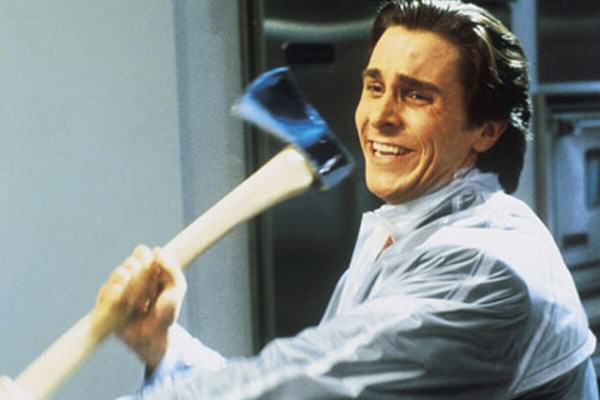 5 Cool Movie Anti Heroes That You Actually Wouldnt Want To Meet In Real Life Patrick Bateman Axe
