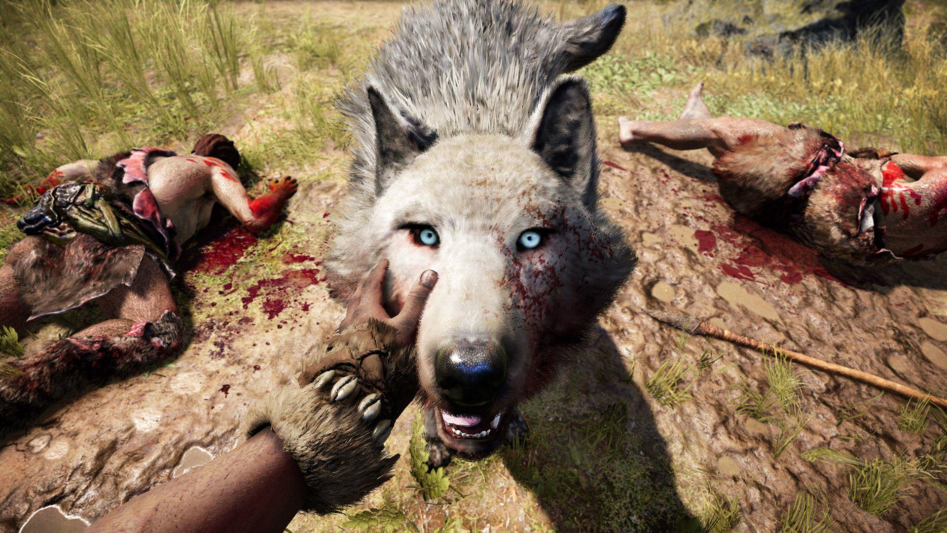 An Exclusive Look At Far Cry Primal Ahead Of Release Day Pet Wolf GOLD 1080p 1449171017.0