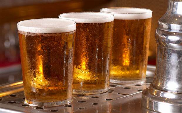 We Are Binge Drinking Whenever We Go To The Pub, Apparently Pints of beer 2624353b