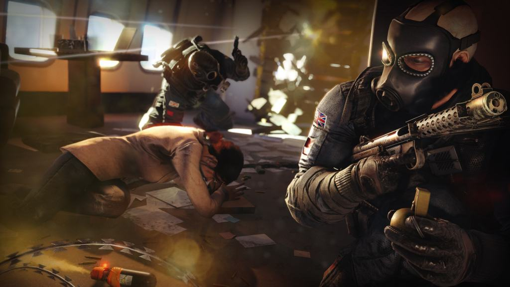 Rainbow Six Sieges Two New Operators Leaked In New Screens Rainbow Six Siege Operation