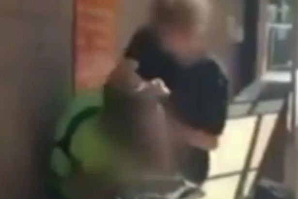 Anonymous Unmask Bully Caught Beating Up Another Kid In Shocking Footage Schoolboy bully filmed attacking another boy outed online 1