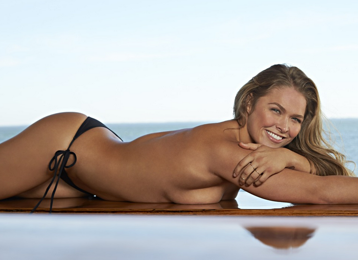 Ronda Rousey Looks Set To Return To Sports Illustrated In Very Revealing Shoot Screen Shot 2016 01 06 at 21.38.25