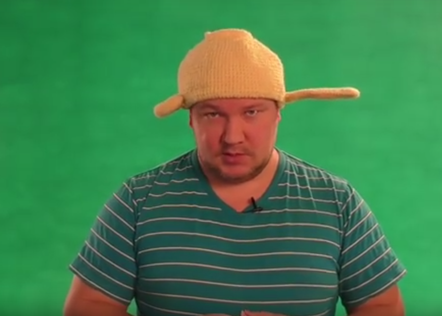 Pastafarian Man Warned By Police Not To Remove His Colander Hat Screen Shot 2016 01 17 at 18.34.31