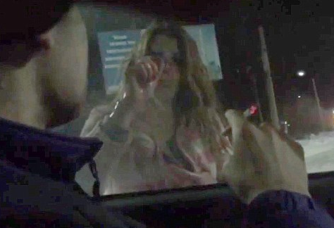 Bloodstained Woman Stops Car To Confess She Killed Boyfriend In Shocking Footage Screen Shot 2016 01 20 at 13.21.50