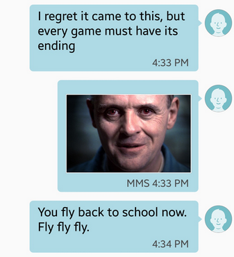 Guy Thinks Hes Texting Girl, Gets Hilariously Trolled By Hannibal Lecter Screen Shot 2016 01 20 at 15.34.14