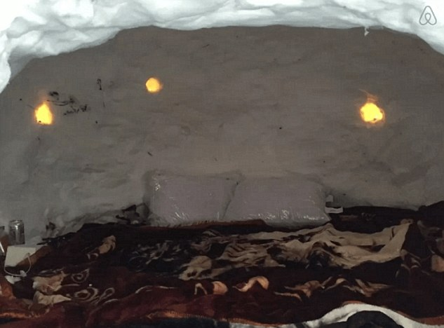 New Yorker Builds Amazing Igloo And Lists It On AirBnB Screen Shot 2016 01 26 at 13.50.46