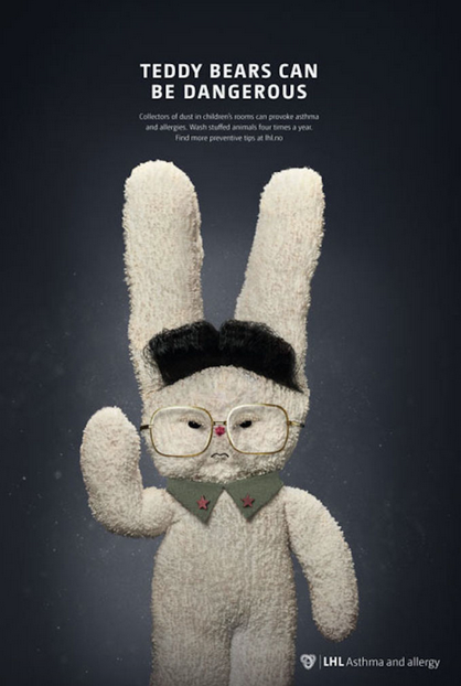 New Campaign Highlights Danger Of Teddy Bears By Comparing Them To Dictators Screen Shot 2016 01 28 at 14.28.53