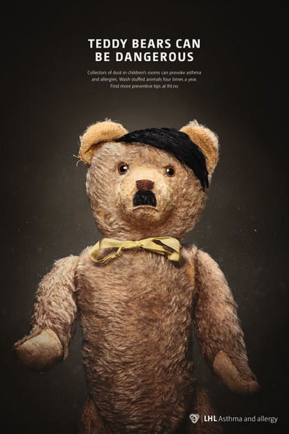 New Campaign Highlights Danger Of Teddy Bears By Comparing Them To Dictators Screen Shot 2016 01 28 at 14.29.43