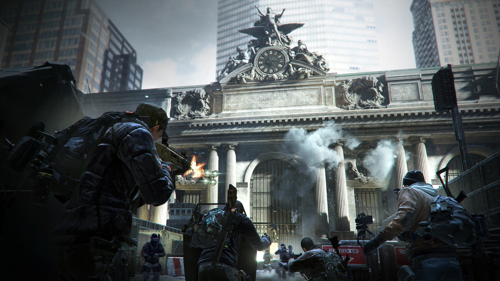 We Had An Exclusive Look At The Division Ahead Of Release Day TCTD 1601 web screenshot grand central