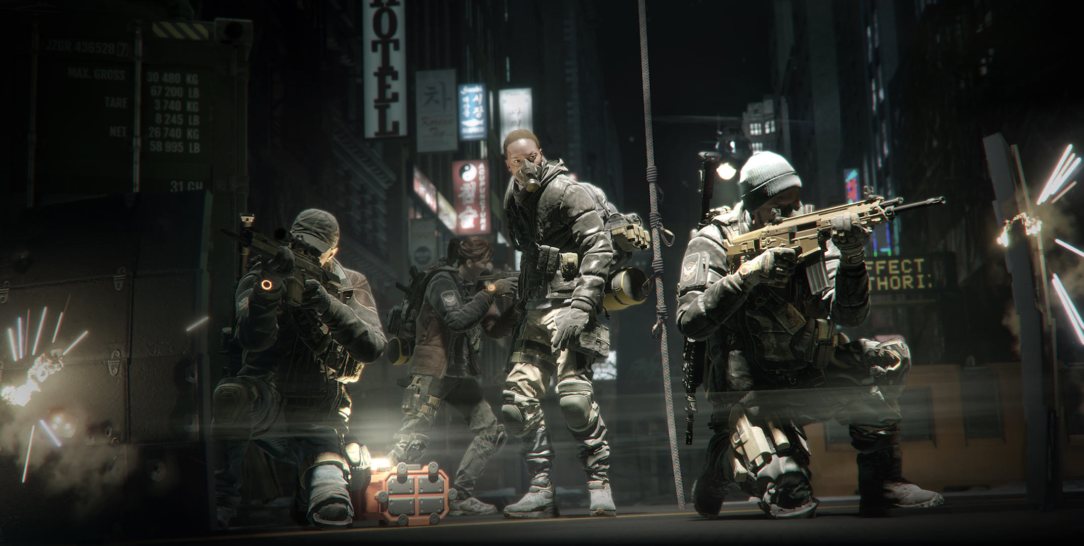We Had An Exclusive Look At The Division Ahead Of Release Day TCTD 1601 web screenshot team formation