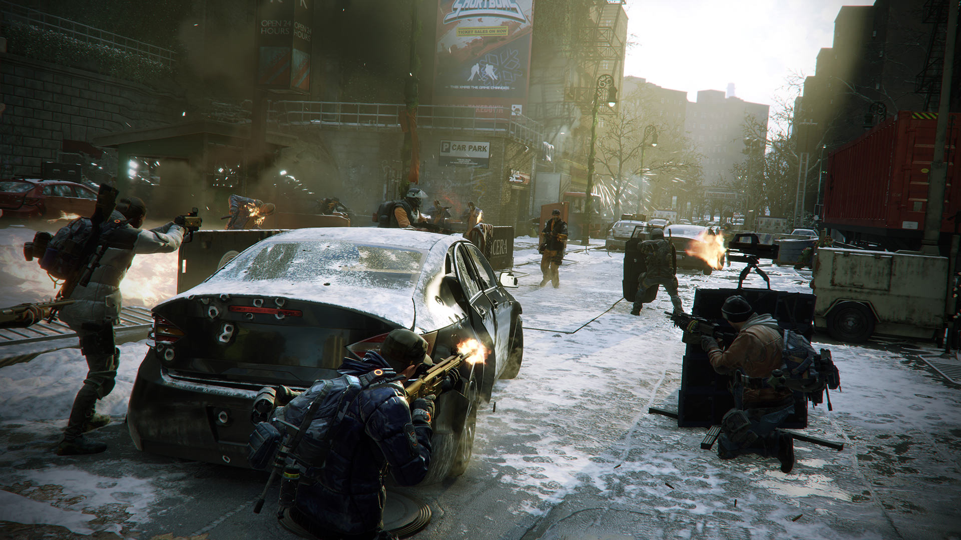 We Had An Exclusive Look At The Division Ahead Of Release Day TCTD 1601 web screenshot team street encounter