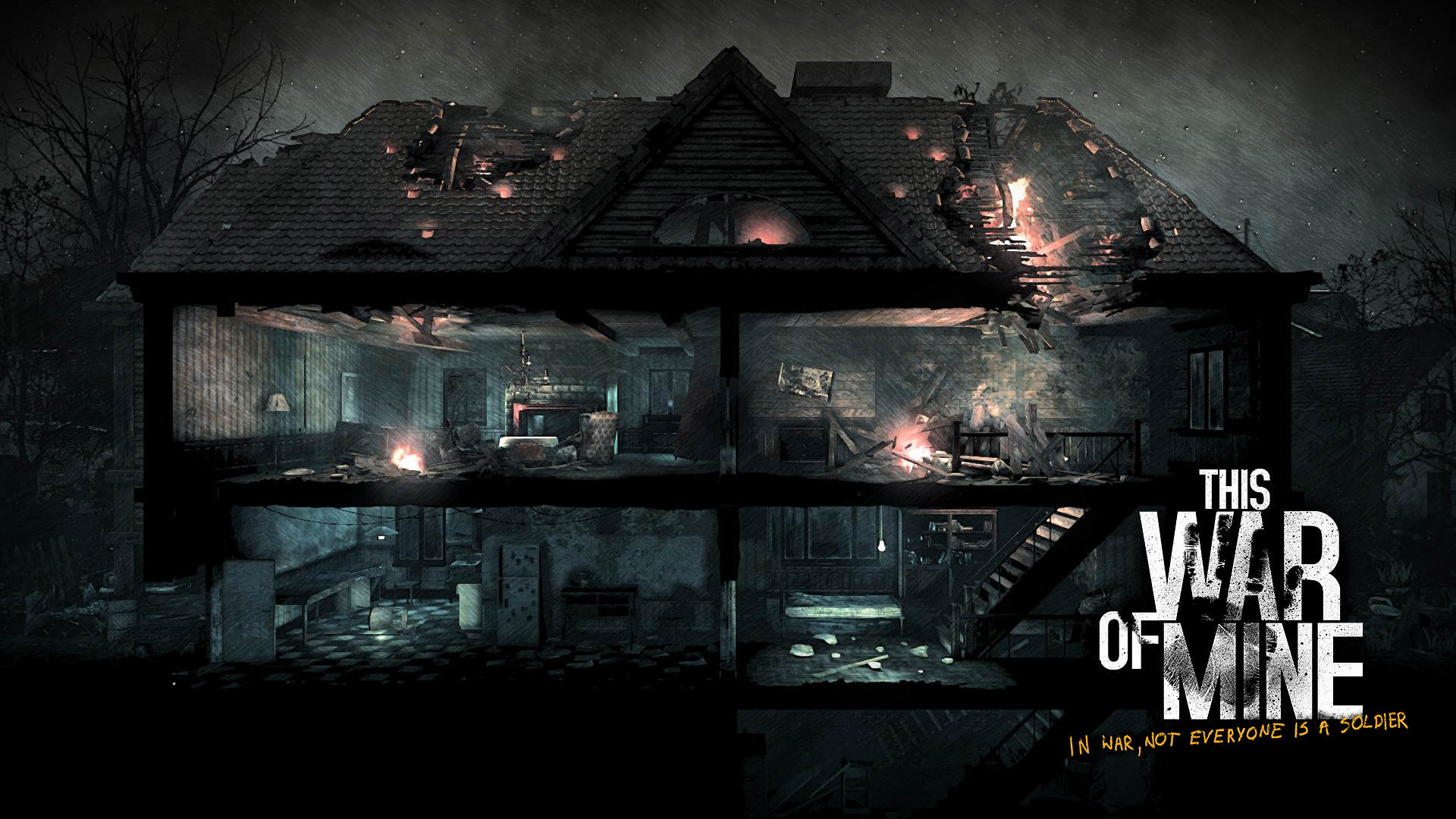 This War Of Mine Deals With The Real Consequences Of War Wallpaper 3