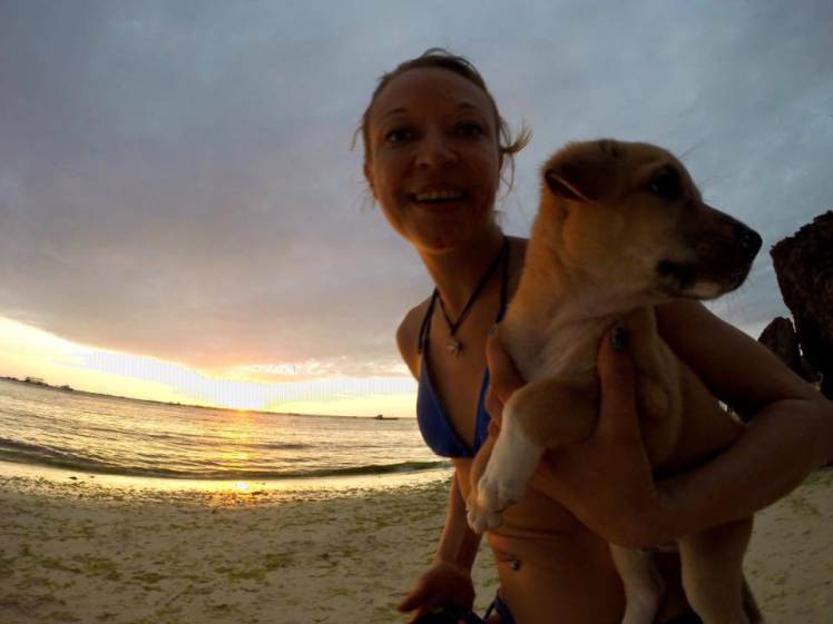 Woman Falls In Love With Stray Dog On Holiday, Brings Him Back Home ad 193234565 1