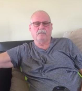 Guy With Alzheimers Makes Emotional Video Plea To Friends And Family alan1