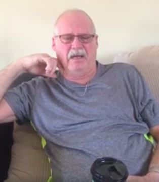 Guy With Alzheimers Makes Emotional Video Plea To Friends And Family alan2
