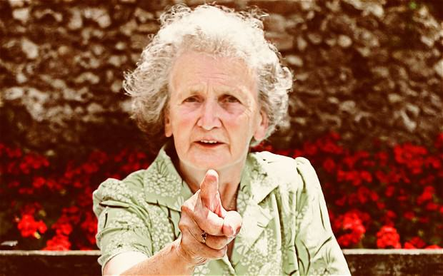 Lads Tale Of Old Lady Answering Natures Call Is Truly Hilarious angry