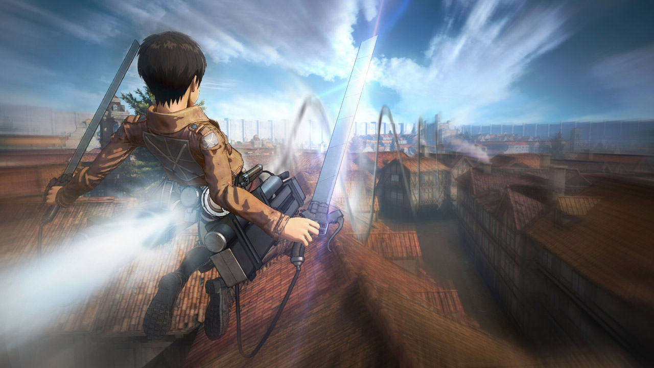 New Attack On Titan Trailer Showcases A Ton Of Awesome Gameplay attack on titan 1