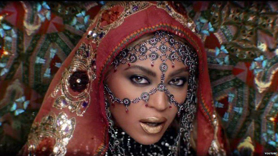 Coldplay And Beyoncé Cause Twitter Storm With India Themed Video beyonce1