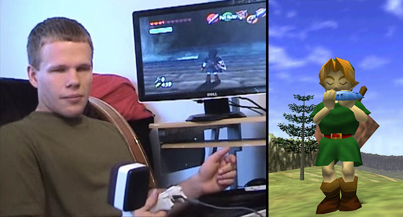 Blind Gamer Beats Ocarina Of Time After Five Years Of Trying blindthumb