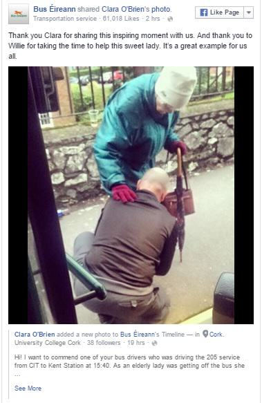 This Bus Drivers Act Of Kindness Will Help Restore Your Faith In Humanity bus post