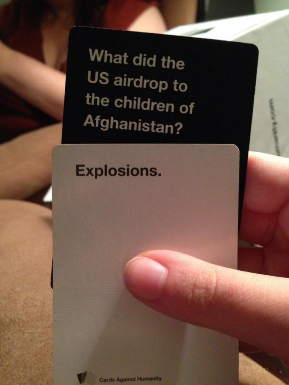 Are These The Most Offensive Cards Against Humanity Answers Possible? card 11