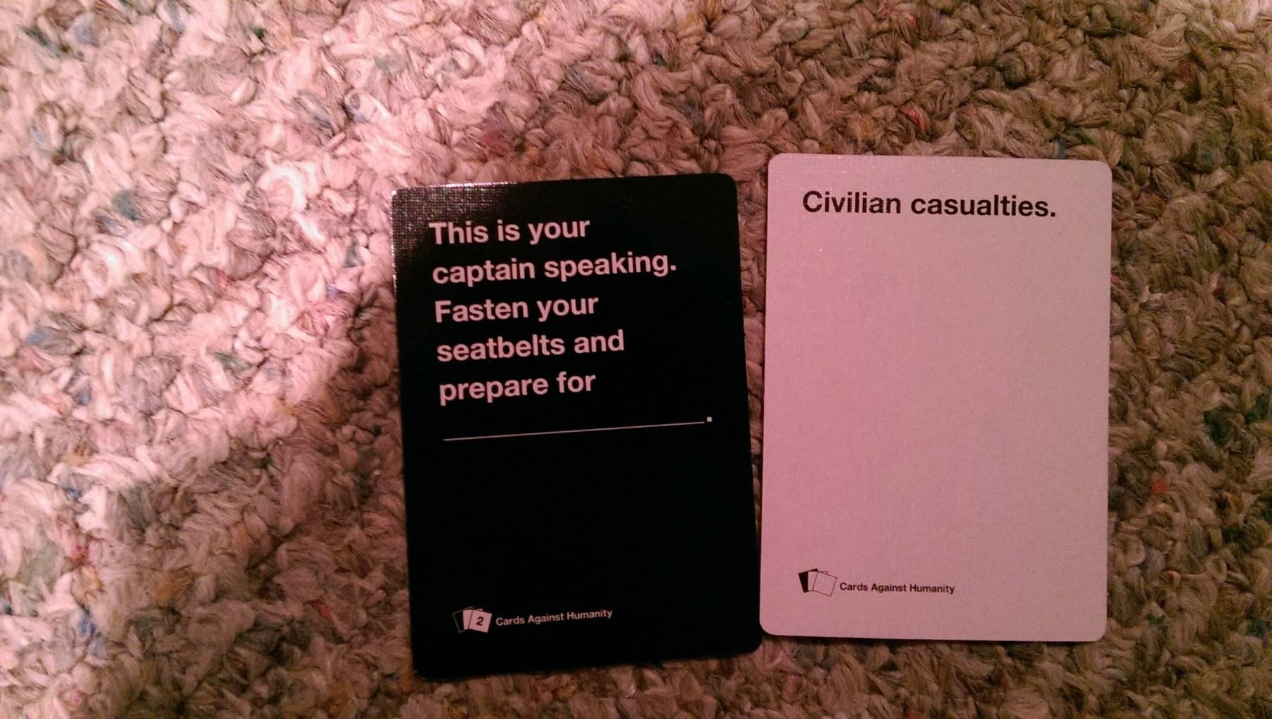 Funny Cards Against Humanity Meme : Love cards against humanity and hating on donald trump have we