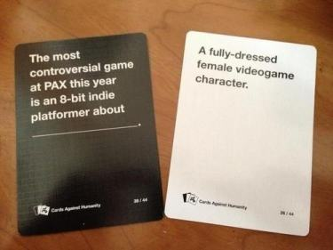 Are These The Most Offensive Cards Against Humanity Answers Possible? cards 15