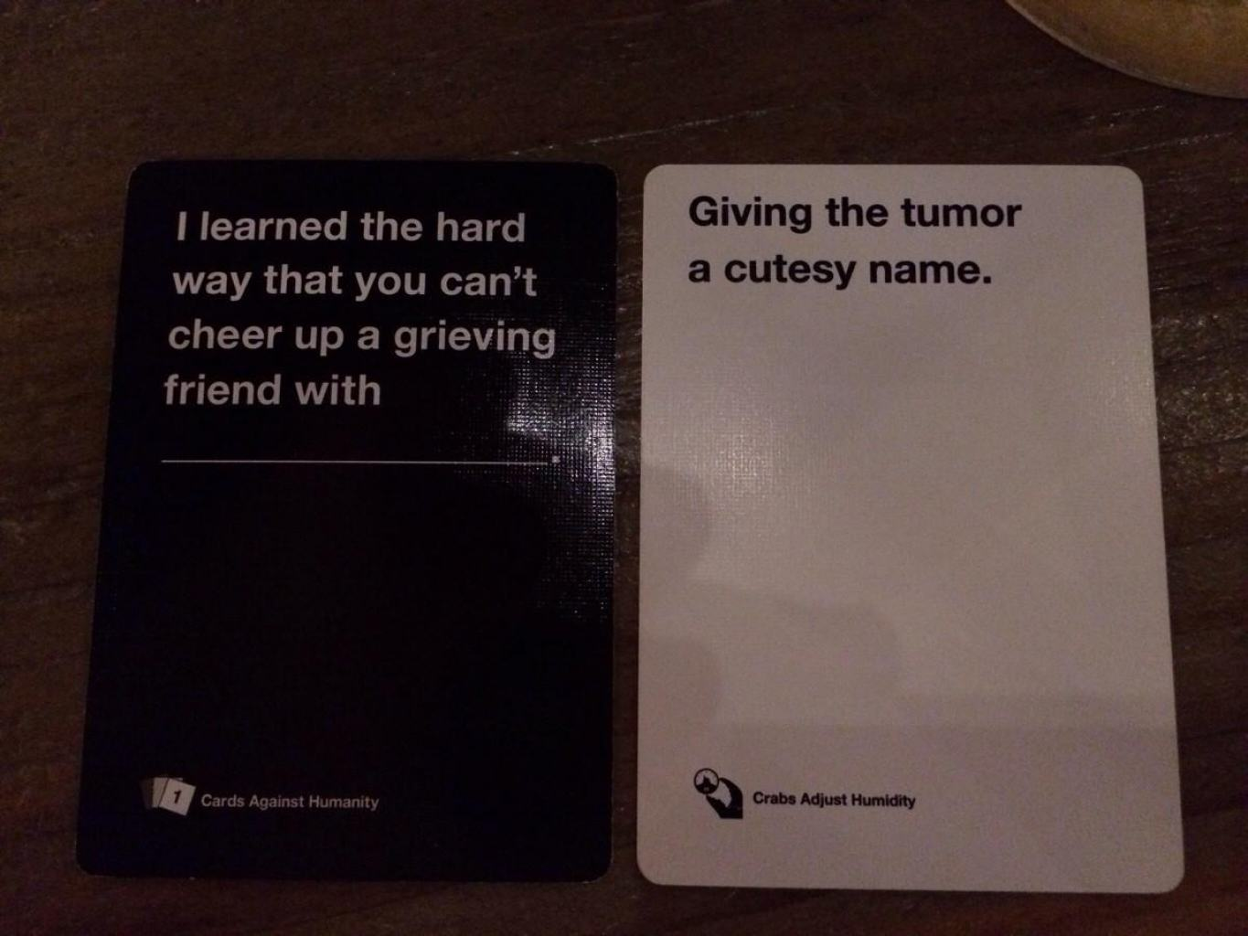 Are These The Most Offensive Cards Against Humanity Answers Possible? cards 5