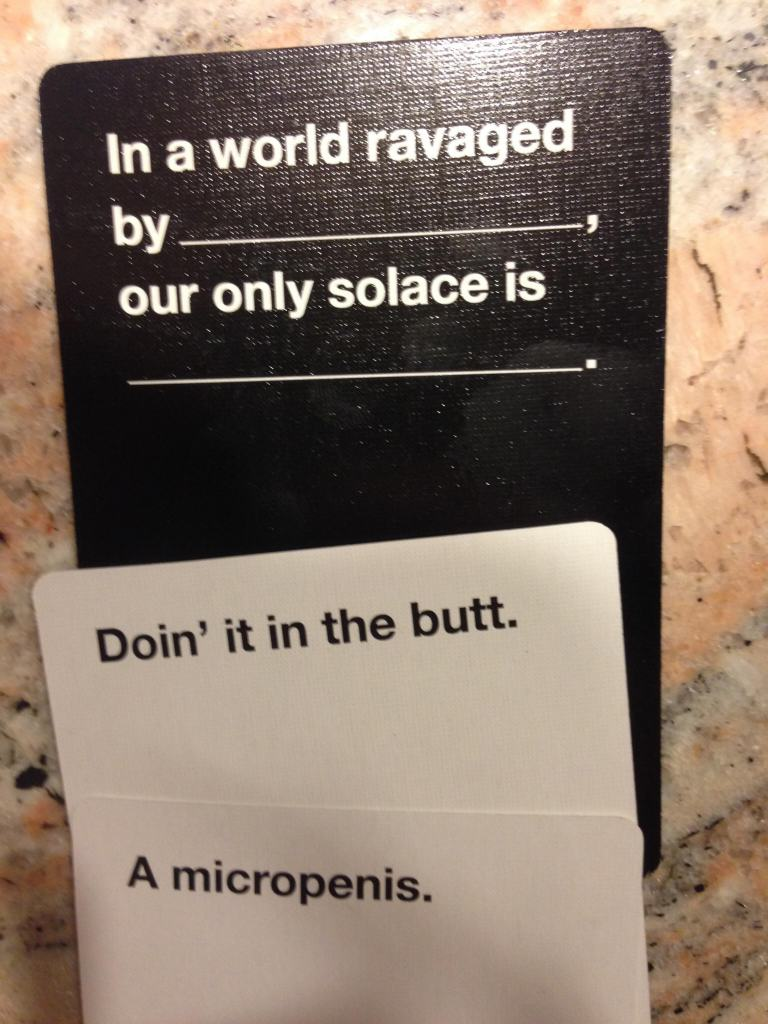 Are These The Most Offensive Cards Against Humanity Answers Possible? cards 6