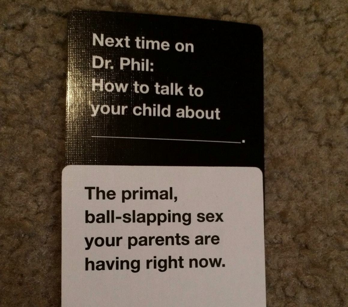 Image of: Cah Cards Cards Against Humanity Focus Wordpresscom Are These The Most Offensive cards Against Humanity Answers Possible