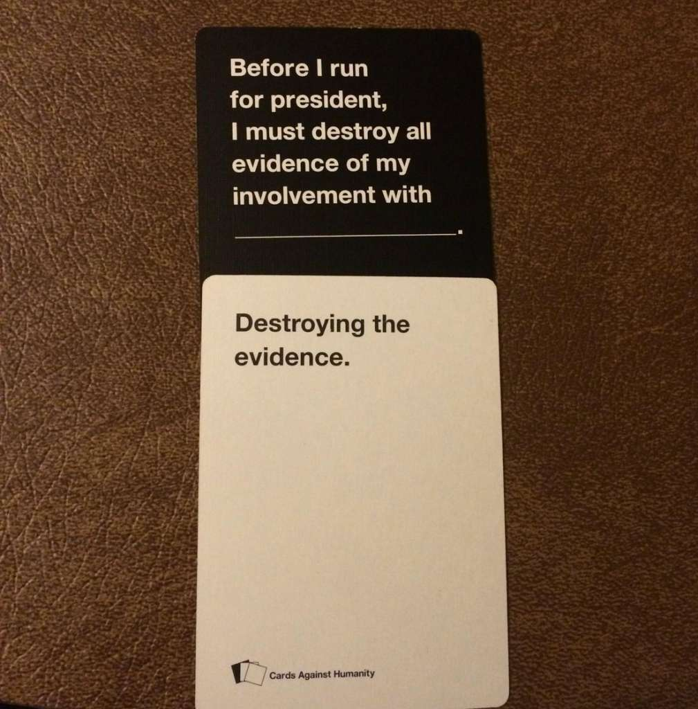 Are These The Most Offensive Cards Against Humanity Answers Possible? cards 8