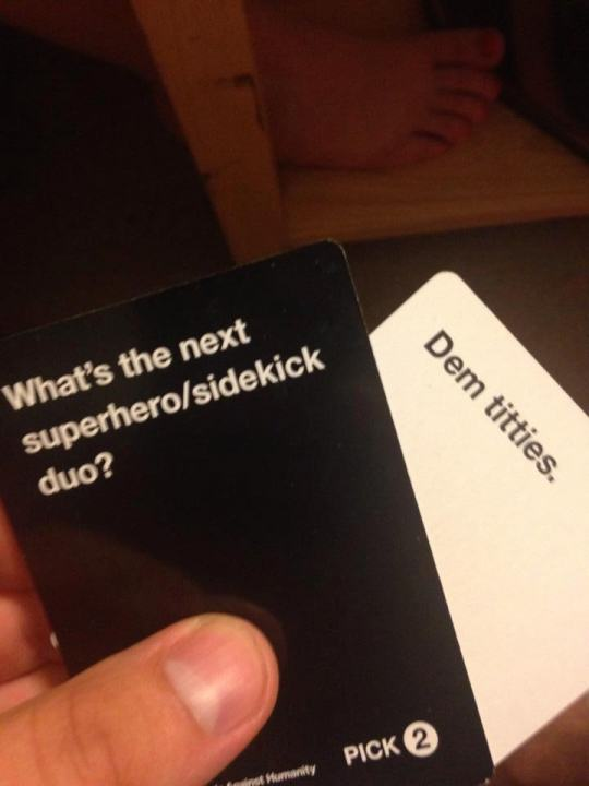Are These The Most Offensive Cards Against Humanity Answers Possible? cards 9