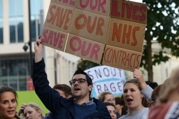 We Spoke To The Hero Doctor Who Crossed Picket Lines To Help A Man doctors