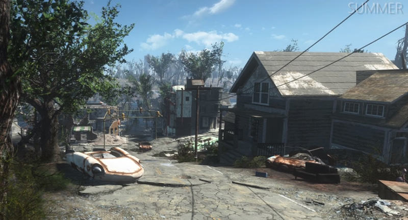 New Seasons Mod Makes Fallout 4 Look Like The Last Of Us