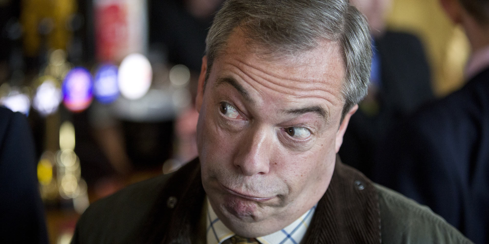 Someone Recently Tried To Assassinate Nigel Farage, Apparently farage crash 1